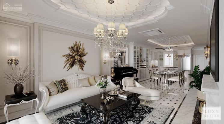 Cho thuê căn hộ 2P Vinhomes Central Park view sông nội thất Châu Âu lầu 19, giá LH 0977771919