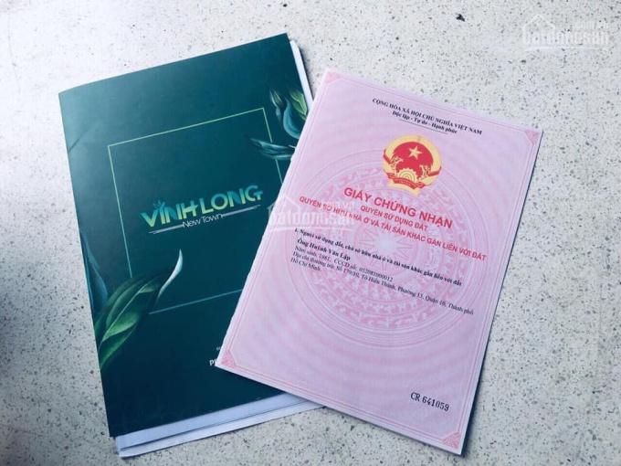 Đất nền sổ đỏ ngay trung tâm TP Vĩnh Long giá chỉ từ 690tr/nền CK 15% tặng 3 chỉ vàng LH 0903414059 ảnh 0