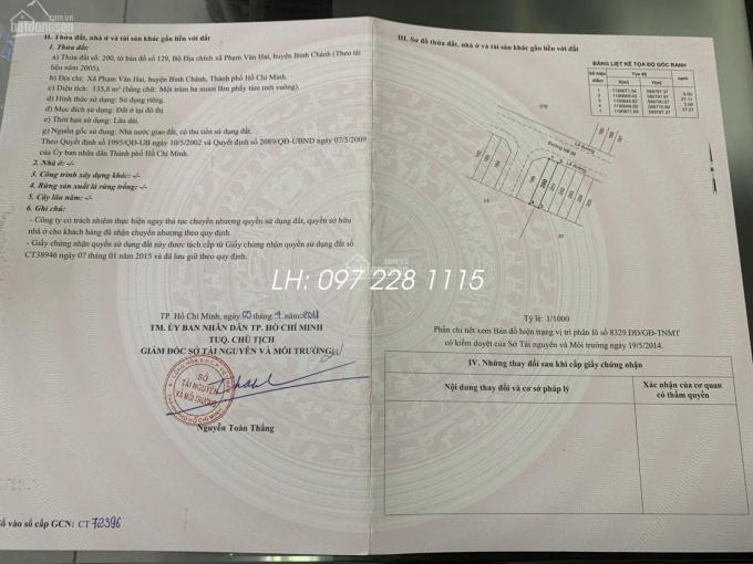 Mở bán đợt 1 khu đô thị Tân Tạo - Chủ nhật 8h00 01/03/2020, LH: 0972281115