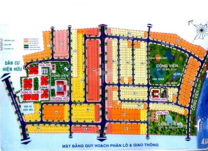 Bán đất 8x25m, Khang Điền Quận 9 (đối diện công viên trường học)