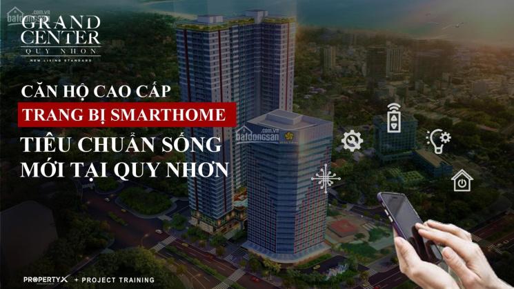 Căn hộ 1 PN Grand Center Quy Nhơn - căn hộ cao cấp 4 mặt tiền trung tâm TP - CĐT Hưng Thịnh