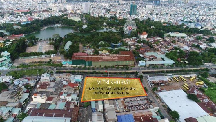 Đất thổ ngay công viên Đầm Sen, đường Kênh Tân Hóa, Tân Phú. DT 4mx18.5m giá chỉ 6tỷ2,0932 359 890