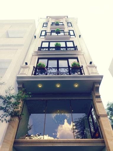 Bán gấp nhà mặt phố Tô Hiệu 100m2 x 8 tầng, thang máy, lô góc 2 thoáng. Giá 23 tỷ