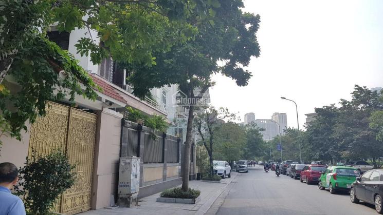 Bán siêu biệt thự sân vườn KĐT Cầu Giấy, dành cho quan chức vip, đại gia, DT 300m2, 2 mặt tiền