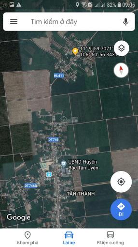 Bán đất mặt tiền ĐT 746 948m2 có 100m2 TC ngang 12m dài 80m Bắc Tân Uyên, Bình Dương