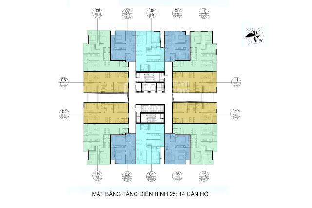 Bán căn hộ chung cư GoldSeason 47 Nguyễn Tuân 98m2 giá chỉ 2.2 tỷ