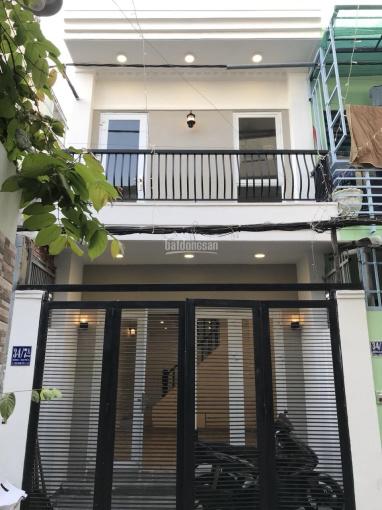 Bán nhà mới 1 trệt 1 lầu, hẻm xe hơi đường Số 6, Tăng Nhơn Phú B, Quận 9