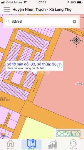 Gia đình cần bán gấp nền dự án HUD, đường 25m, nhóm 1, xã Long Thọ, huyện Nhơn Trạch