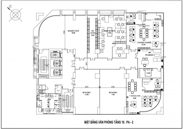 Cho thuê sàn thương mại MD Complex Tower 68 Nguyễn Cơ Thạch 80m2, 289.75 nghìn/m2/1th. 0981114188