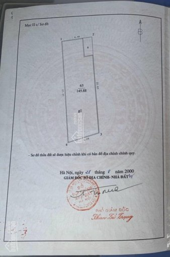 Chính chủ cần bán nhà mặt phố Nguyễn Văn Cừ, LB, DT 145,88m2, MT 6,3m, giá 32 tỷ. LH 0975960803