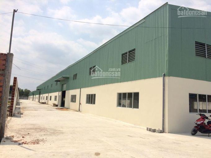 Cần bán 4 xưởng mới đường số 4, Đức Hòa - Long An, DT: 9876m2 gần làng sen, chợ, trường học