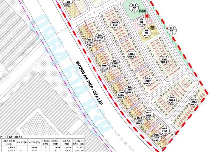 Bán nền góc 2 mặt tiền tái định cư đối diện tòa nhà Sun Home - khu Sun Grand World Phú Quốc