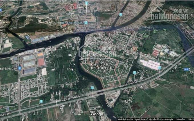 Bán đất 2 mặt tiền khu dân cư Phú Lợi tại P. 7, Q. 8, TP. HCM