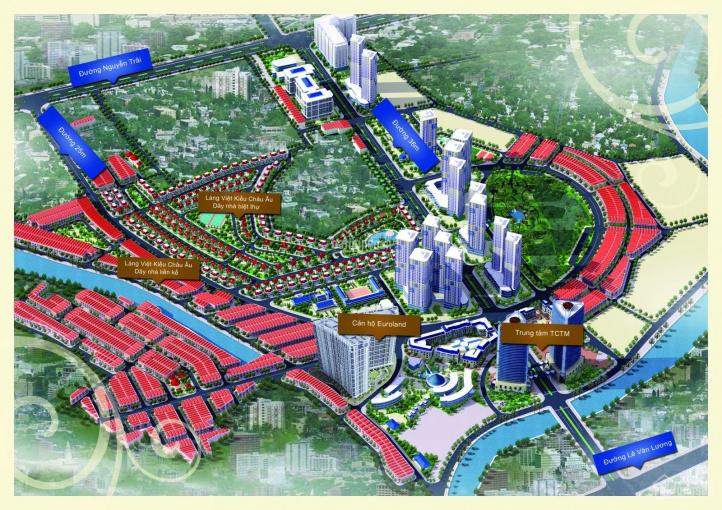 Bán gấp BT Mỗ Lao Làng Việt Kiều Châu Âu, 145m2, 150m2, 250m2 sổ đỏ, vị trí đẹp giá rẻ, cần bán gấp