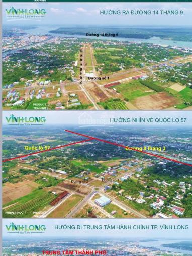 Bán đất thổ cư sổ đỏ riêng từng nền, chỉ 8tr/m2 ngay trung tâm TP Vĩnh Long CK: 1% LH: 0908207092 ảnh 0