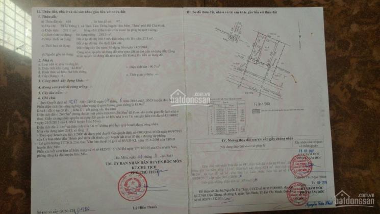 Bán nhà hot - mặt tiền Nguyễn Ảnh Thủ 16x30m. CN 293m2, Quận 12, giá 25 tỷ