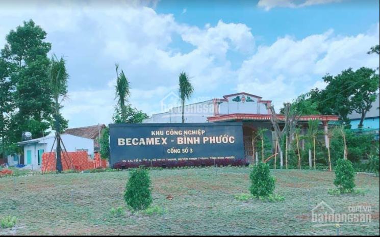 Bán đất Becamex Chơn Thành, Bình Phước, 165m2, giá 5tr/m2, sổ hồng sang tên ngay, LH: 0919072806