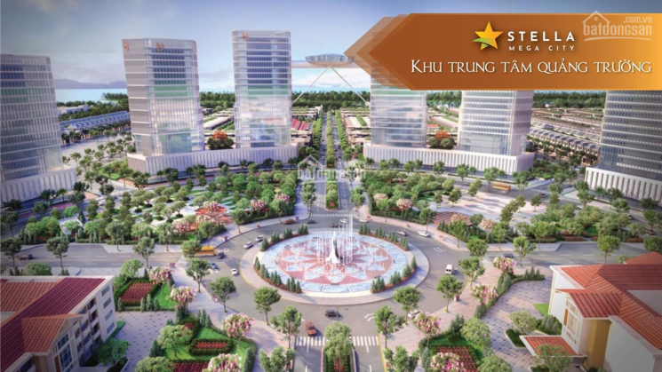 Cần tiền bán gấp lô đất dự án Stella Mega City Quận Bình Thuỷ Đường 25m giá 23,9tr/m2