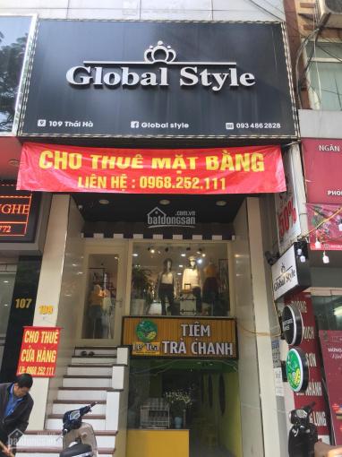 Chính chủ cần cho thuê nhà mặt phố Thái Hà, Đống Đa, Hà Nội