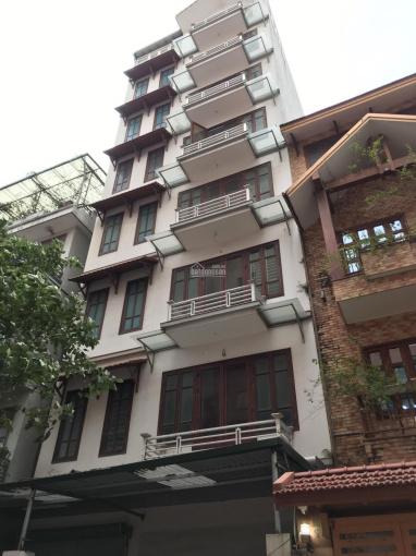 Cho thuê nhà tại 18 Phạm Hùng, xây 7 tầng, 1 tầng hầm, gần bến xe Mỹ Đình