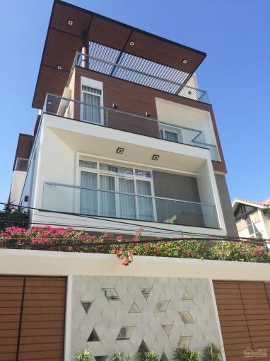 Cho thuê biệt thự Trần Não 389m2, gara trệt 2 lầu, 4 phòng lớn, giá chỉ 36 triệu/tháng ảnh 0
