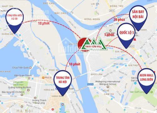 Bán cắt lỗ biệt thự Khai Sơn Hills, nằm trong tiểu khu của dự án Khai Sơn City. LH 0969308392