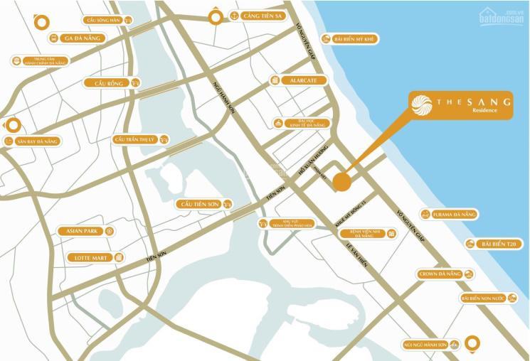 Công bố căn hộ view biển Đà Nẵng - The Sang Residence
