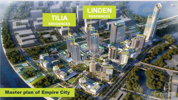 Nhận ký gửi mua bán căn hộ Empire City 1PN, 2PN, 3PN, tháp Linden, giá tốt. LH: 0902183968 ảnh 0
