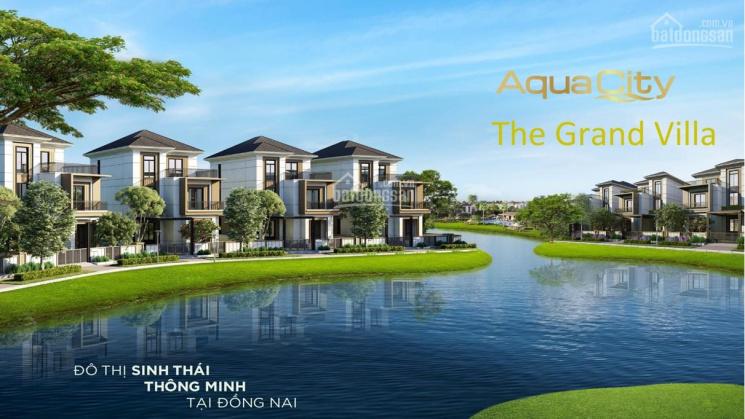 Đô Thị Sinh Thái Thông Minh - Aqua City  Nhà Phố 6x20: 1,4 Tỷ. Ưu Đãi Đầu Năm lên đến 10%