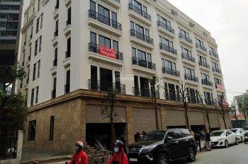Cho thuê nhà mặt phố căn góc 3 MT 104m2 6T 600m2 có hầm thang máy ở 28 Trần Bình Mỹ Đình 100tr/th
