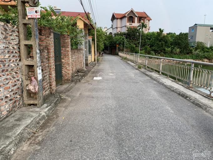 Cần bán 33,3m2 đất thổ cư mặt tiền 3,91m ngõ ô tô tại tổ 13 phường Thượng Thanh, Long Biên