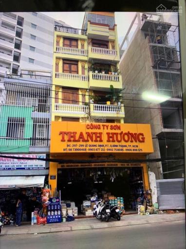 Cho thuê nhà trệt 5 lầu (DT: 8mx20m) MT Lê Quang Định, Q. Bình Thạnh, giá 220 tr/th, 0908609012