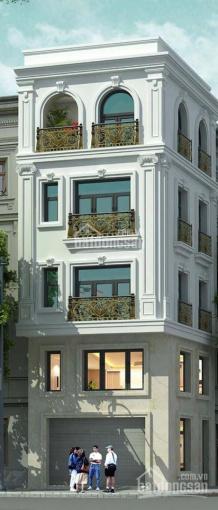 Bán nhà Hoàng Quốc Việt, Nghĩa Đô, 56m2, 4 tầng, nhà mới tinh, tân cổ điển cực đẹp, 4.65 tỷ