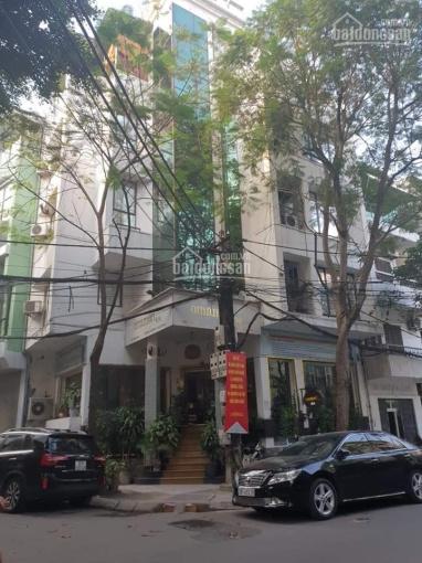 Bán nhà mặt phố Quán Thánh, Ba Đình, 6 tầng, lô góc, hai mặt phố, DT 135m2 x 6 tầng, giá 39 tỷ