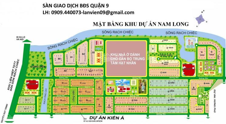Cần bán đất nền dự án Nam Long sổ đỏ, giá tốt nhất thị trường. LH: 0909.440073 Lan Viên
