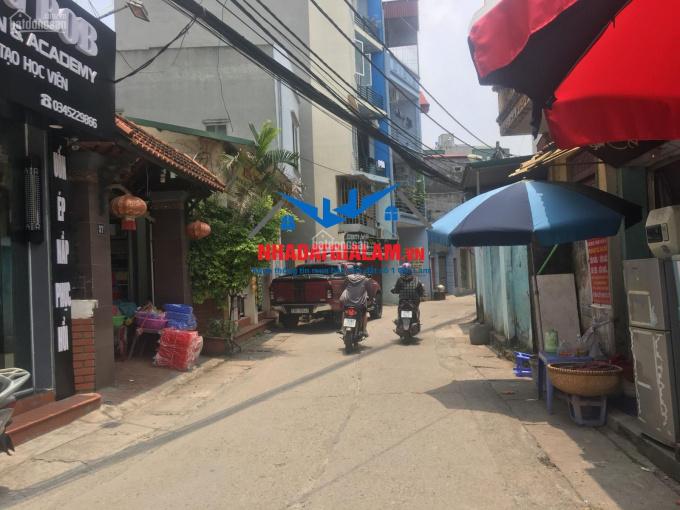 Bán đất tại Đào Nguyên, Trâu Quỳ, diện tích 75m2, MT 5m đường thông kinh doanh nhỏ