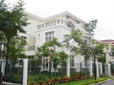 Cho thuê biệt thự An Phú An Khánh, đường lớn khu B với 10 x 20m, giá 50 triệu và 26 triệu nhà phố ảnh 0