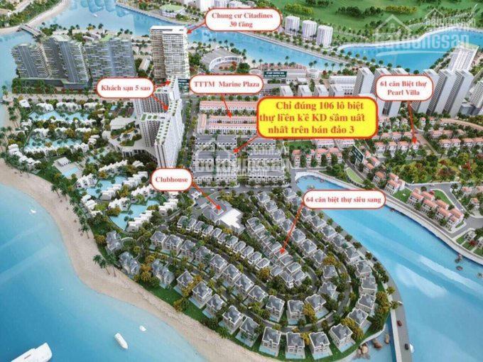 Liền kề mặt biển bàn giao 4 tầng giá chỉ 61 triệu/m2 tặng gói nội thất 200tr lãi suất 0% vay 70%