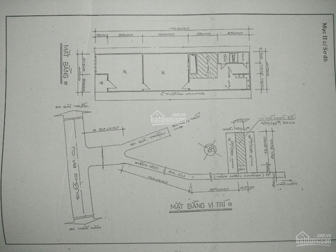 Bán gấp nhà trước tết hẻm 121 Ba Cu, P. 4, TP. Vũng Tàu, giá hot