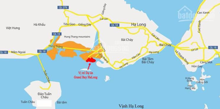 Bầu trời Âu tại mặt biển Hạ Long, giá chỉ 61tr/m2 ngân hàng hỗ trợ vay 70% lãi suất 0% tặng 200tr