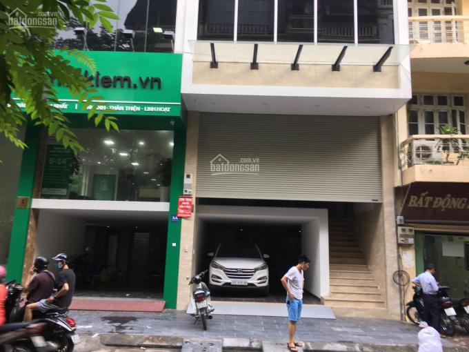 Cho thuê nhà mới xây cực đẹp mặt phố Bạch Mai 110m2 x 3 tầng, MT 5m. LH: 0946850055