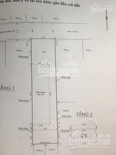 Bán nhà HXH 217/11 Bùi Đình Tuý, Q. BT, DT: 6,55x28m, doanh thu 200tr/th, giá: 16.2 tỷ TL