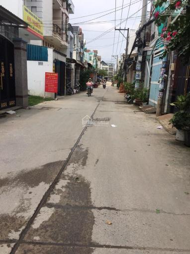 Chủ kẹt tiền bán gấp lô đất hẻm 1/ đường số 6, Bình Hưng Hòa B, Bình Tân, DT 4x19m, giá 3,1 tỷ TL