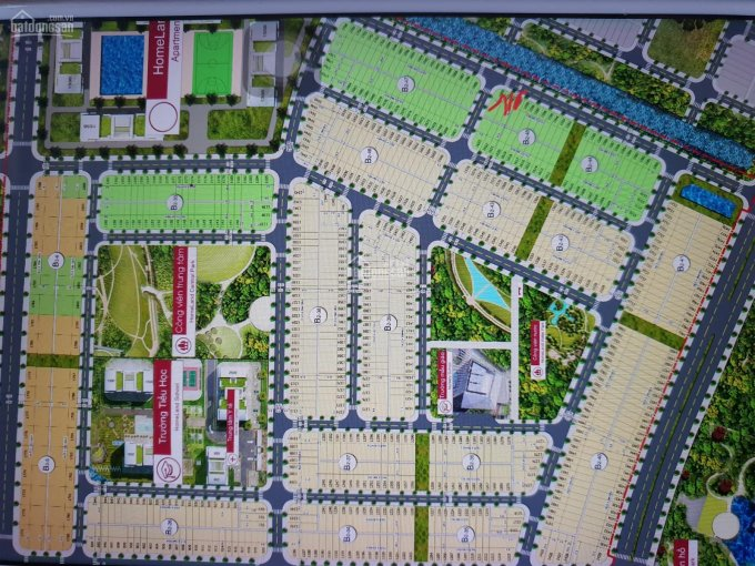 Cần bán đất lô B2 - 45 - 1598 dự án Homeland Center Park