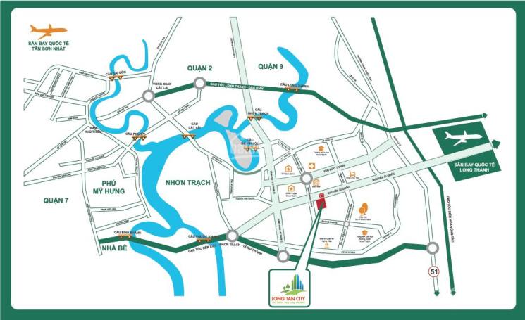 Bán dự án siêu đẹp Long Tân City Nhơn Trạch, sổ đỏ riêng mặt tiền đường 25C, LH 0909.254.256