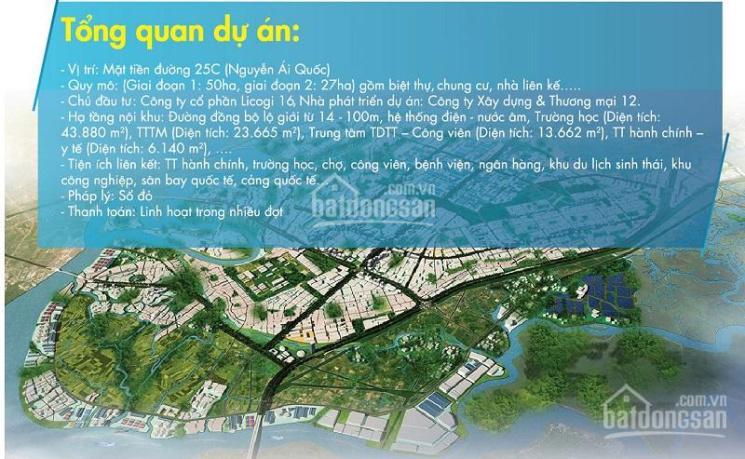 Bán dự án đất nền Long Tân City, Nhơn Trạch, sổ đỏ riêng, mặt tiền đường 25C, LH 0909.254.256