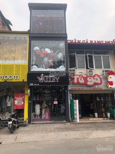 Chính chủ cho thuê gấp nhà MP Thái Hà 60m2 x 5 tầng phù hợp mọi loại hình kinh doanh giá 42tr/th