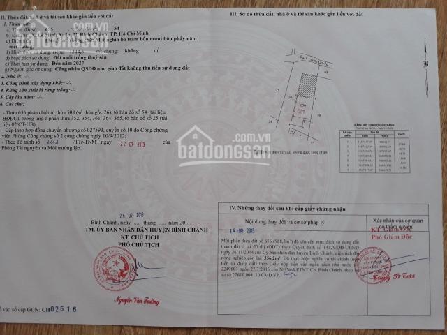 Bán đất thổ cư đường Trần Đại Nghĩa 1344m2, giá 15 tỷ