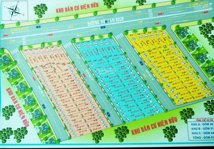 Đất trống dự án Kim Phong 1-đường Võ Văn Bích, xã Bình Mỹ, Củ Chi, giá 22tr/m2 đường 8m gần chợ HM