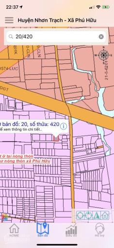Bán miếng đất xã Phú Hữu, đường Dương Văn Thì, nền biệt thự 183m2, full thổ cư, LH: 0931100811 ảnh 0